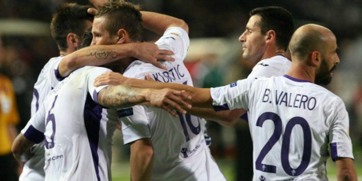 La Fiore de los chilenos sigue firme en la Europa League