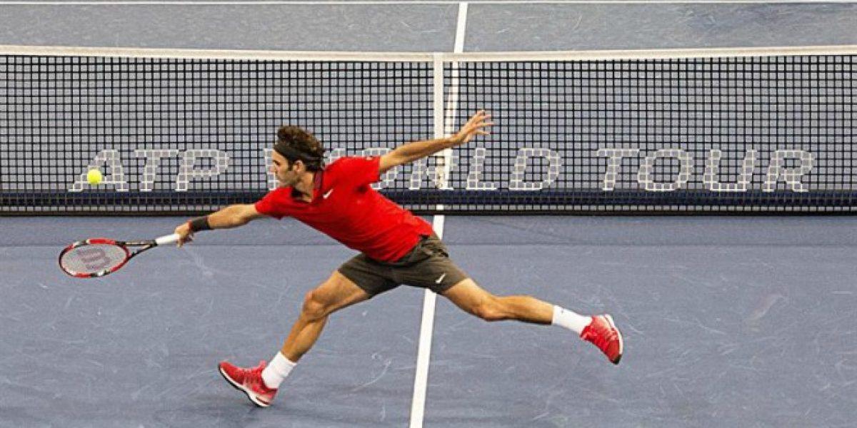Federer sufrió en su propia casa, pero supo vencer a Istomin