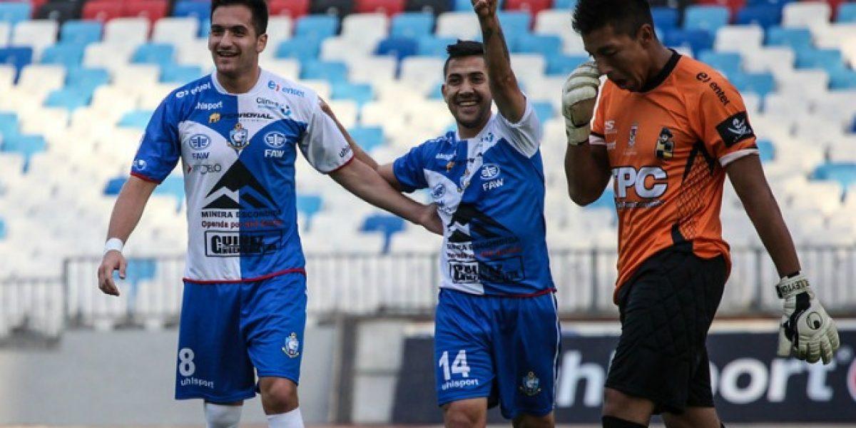 En Copa Chile sonríe: Antofagasta goleó a Coquimbo y avanzó a cuartos