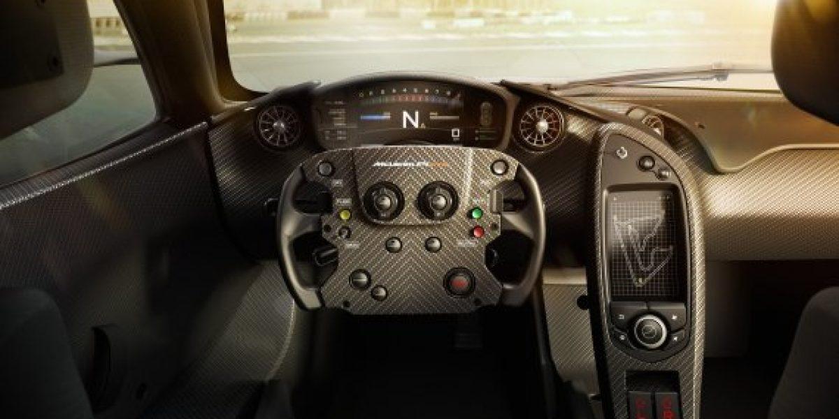 GALERÍA:Mira las primeras imágenes del McLaren P1 GTR