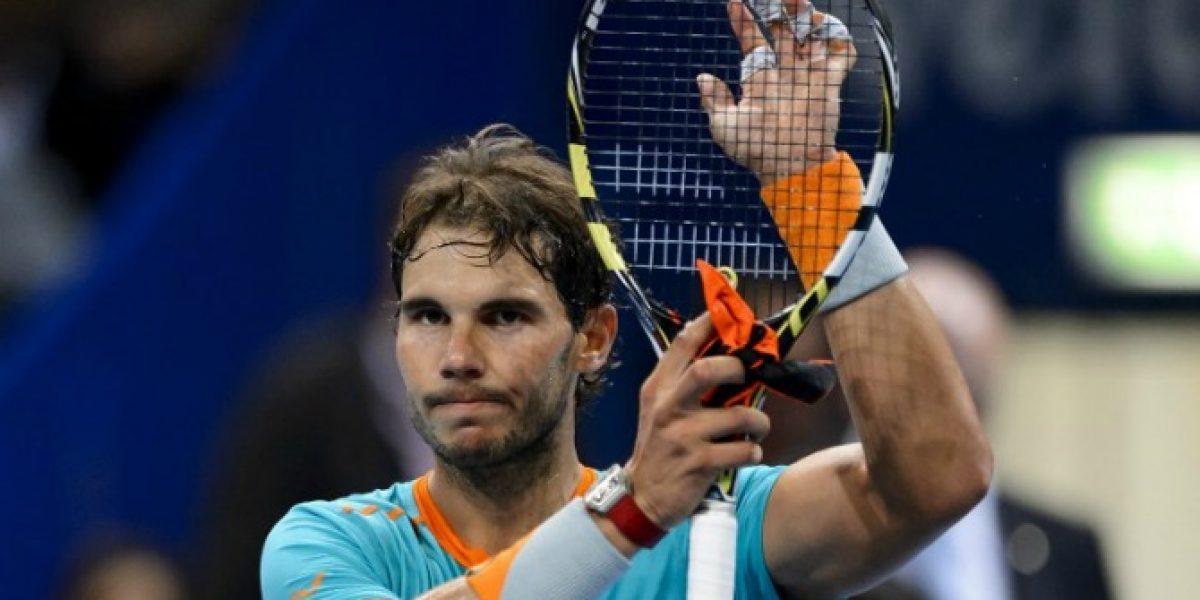 ¿Qué le pasa a Rafa? Nadal es baja para el Torneo París-Bercy por