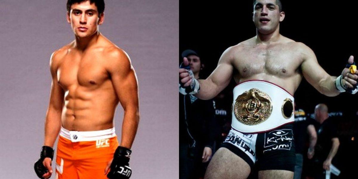 Un chileno en UFC y otro en Bellator: Los criollos invaden las Artes Marciales Mixtas