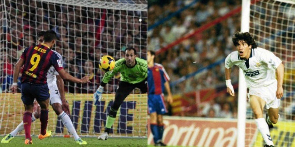 Alexis vs Zamorano: la rivalidad chilena en el derbi español