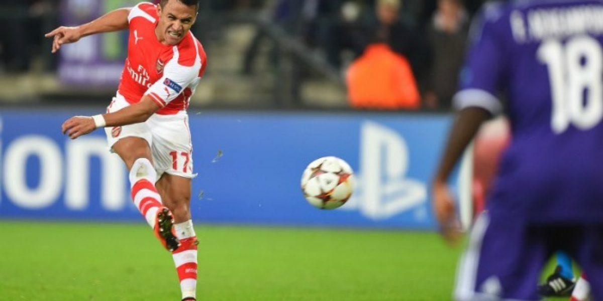El nuevo apodo que Arsenal le puso a Alexis en redes sociales