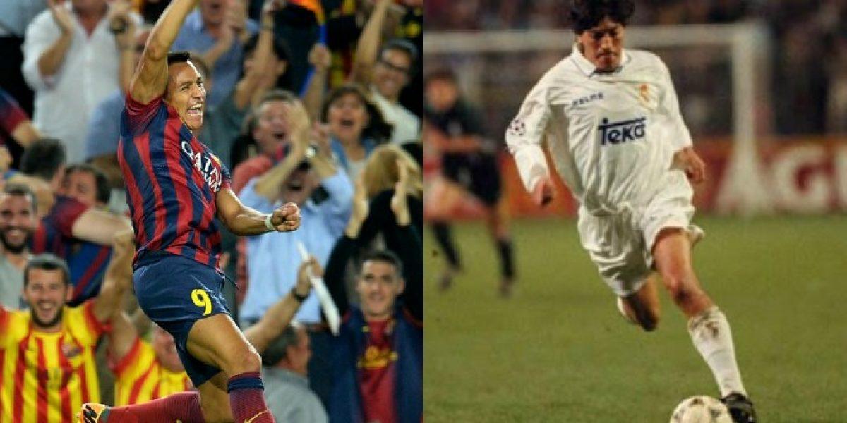 Rivalidad chilena en el derbi: ¿La goles de Zamorano o la técnica de Alexis?
