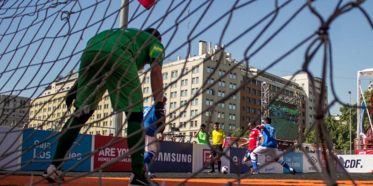 Las selecciones de Chile cerraron una semana redonda en el Mundial de Fútbol Calle