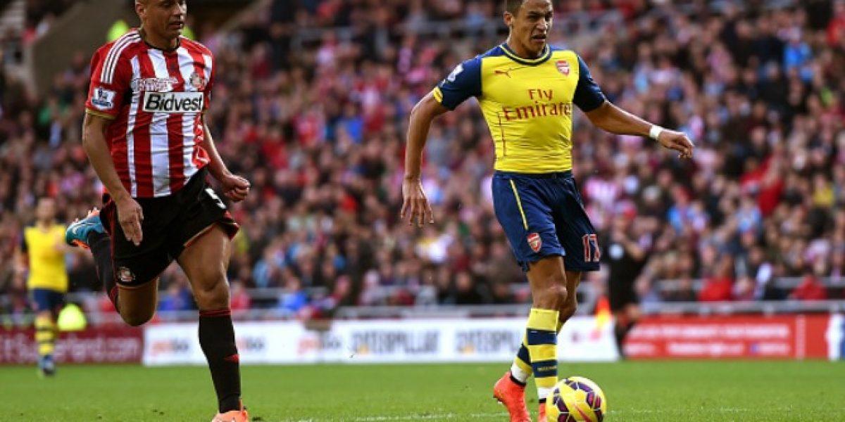 Video: Súper clase.... el golazo de Alexis Sánchez ante Sunderland