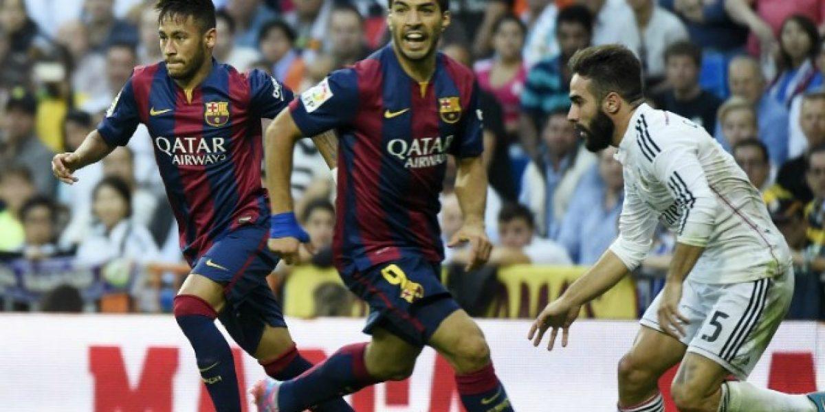 Aprendió de Jara: Luis Suárez le agarró los genitales a Sergio Ramos