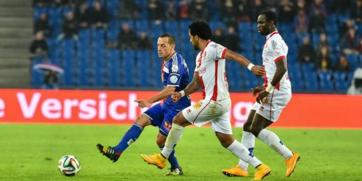 Díaz jugó el partido en pobre empate del Basilea que puso en riesgo su liderato en Suiza