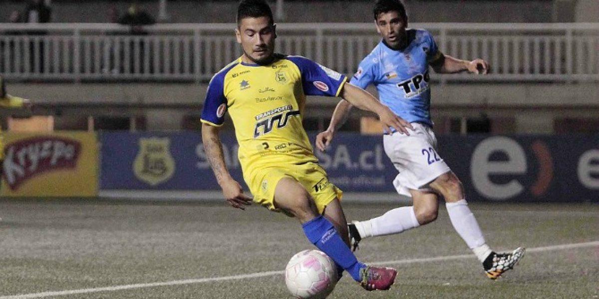 San Luis lo empató en la agonía ante Coquimbo y mantiene su invicto en la B