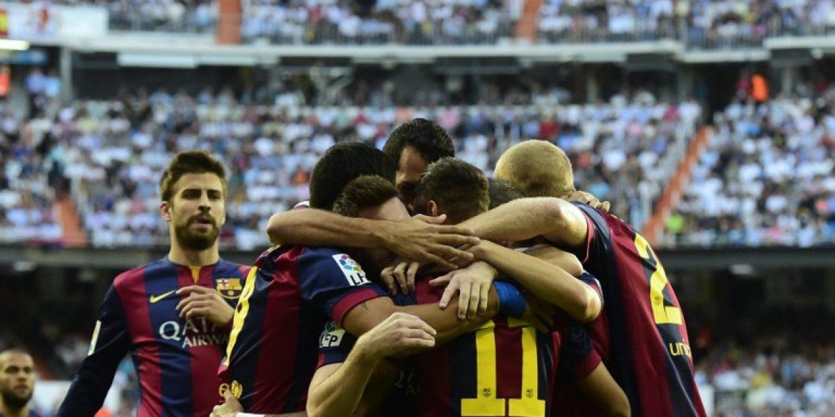 Galería: La celebración de Neymar