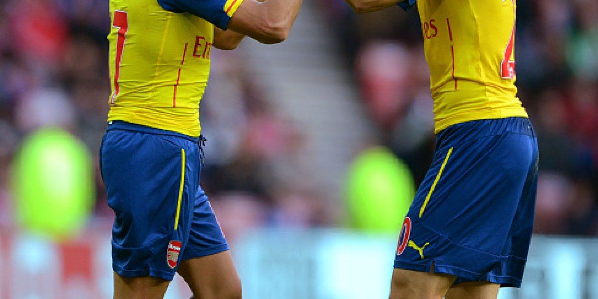 Galería: la hermosa definición y la eufórica celebración de Alexis tras su gol