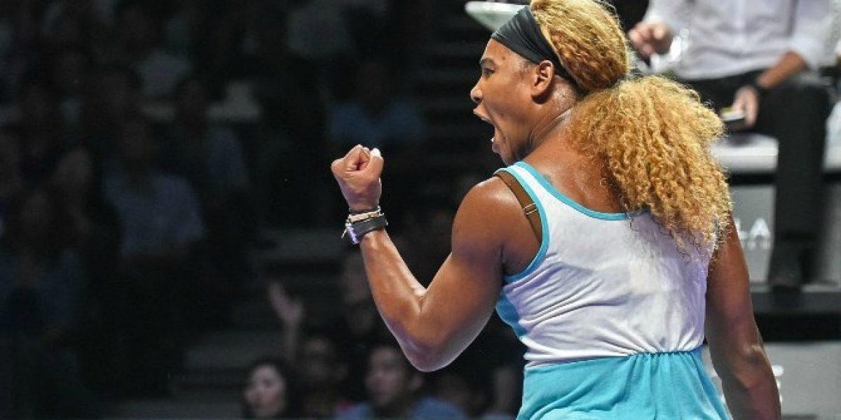 Serena Williams gana a Halep y logra su tercer Masters consecutivo
