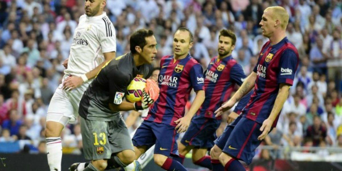 Para los hinchas del Barça Bravo fue uno de los tres rescatables ante el Madrid