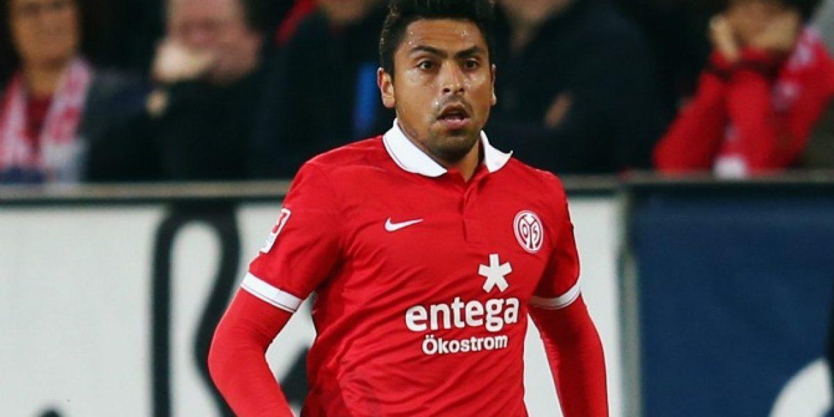 Jara tuvo una jornada de sufrimiento en dura derrota del Mainz ante el Wolsfburgo
