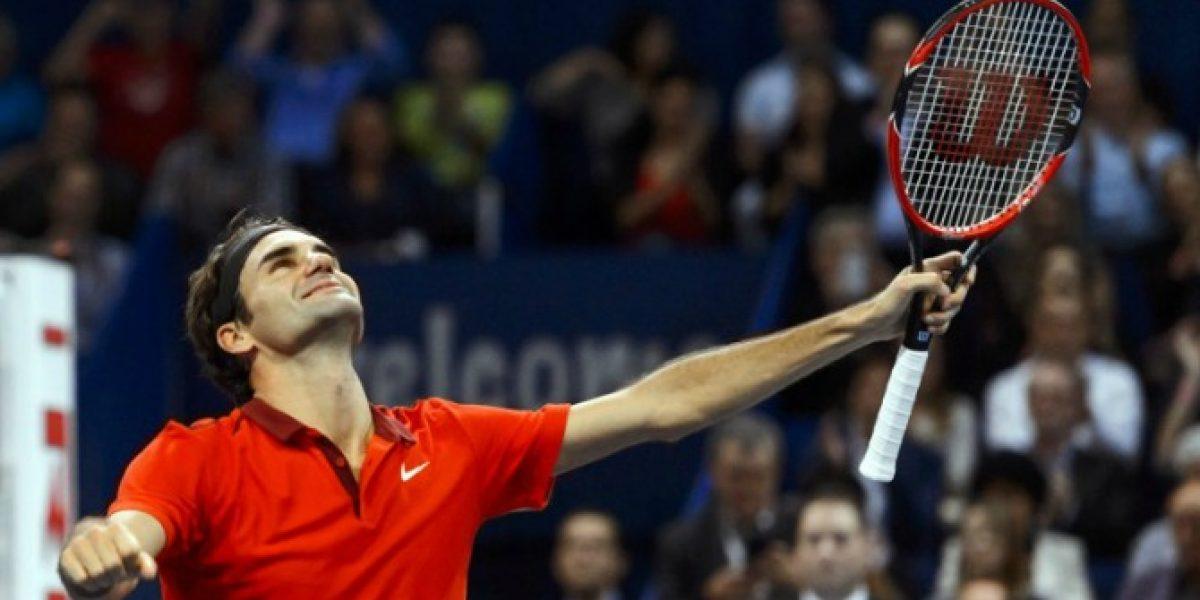 El eterno Roger Federer gana un nuevo título en su casa y le pisa los pies a Djokovic