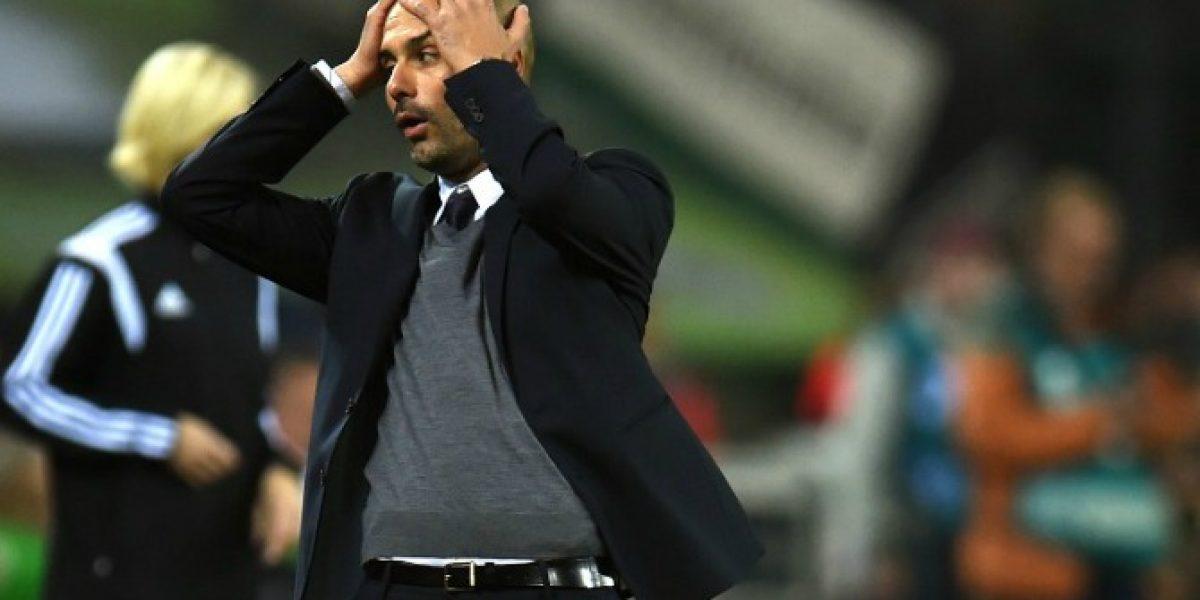 Video: El polémico gesto de Pep Guardiola que generó controversia en Alemania