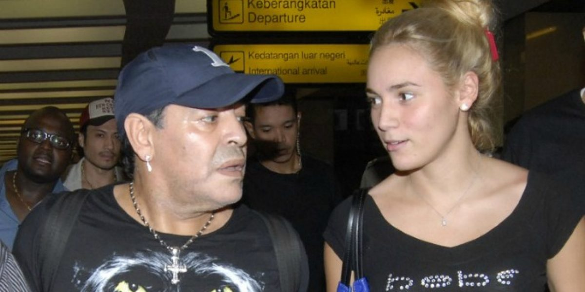 Video: La violenta agresión de Maradona contra su ex novia Rocío Oliva
