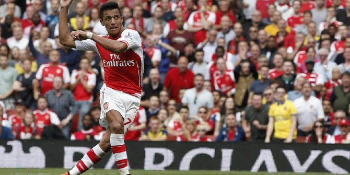 Alexismanía: hinchas de Arsenal eligen el mejor gol del chileno con su club