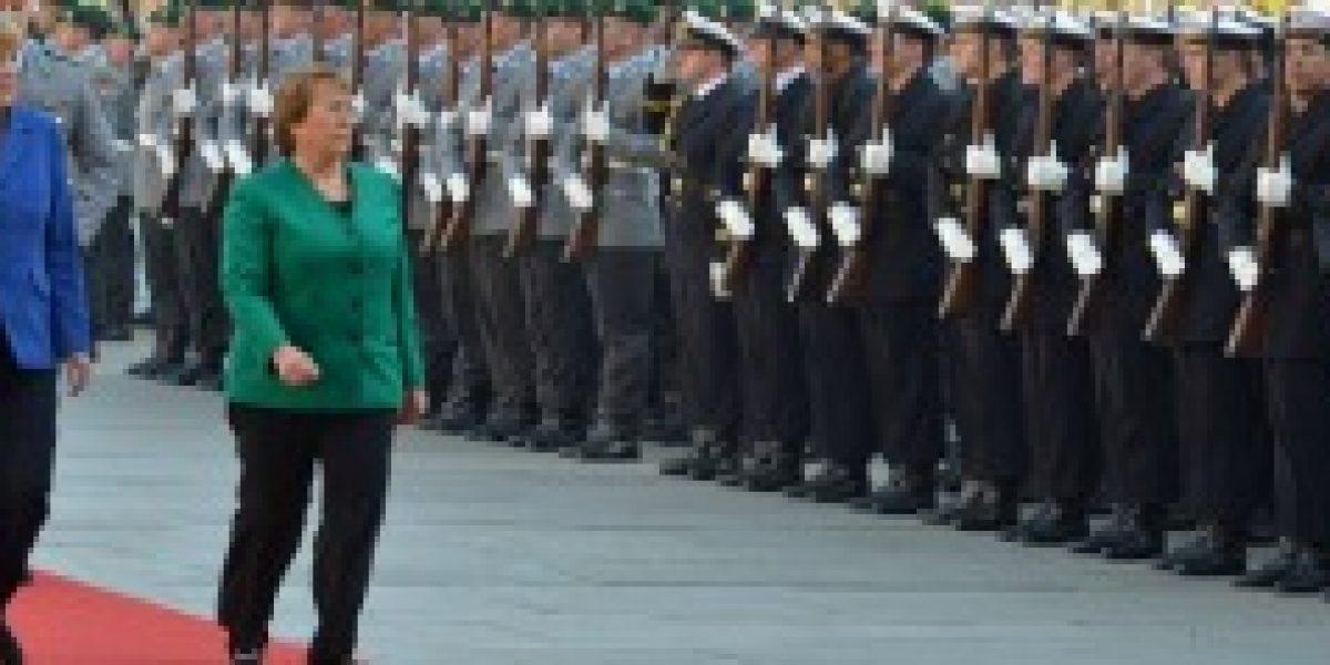 Bachelet en Alemania: Chile está creciendo, pero más lento de lo que quisiéramos