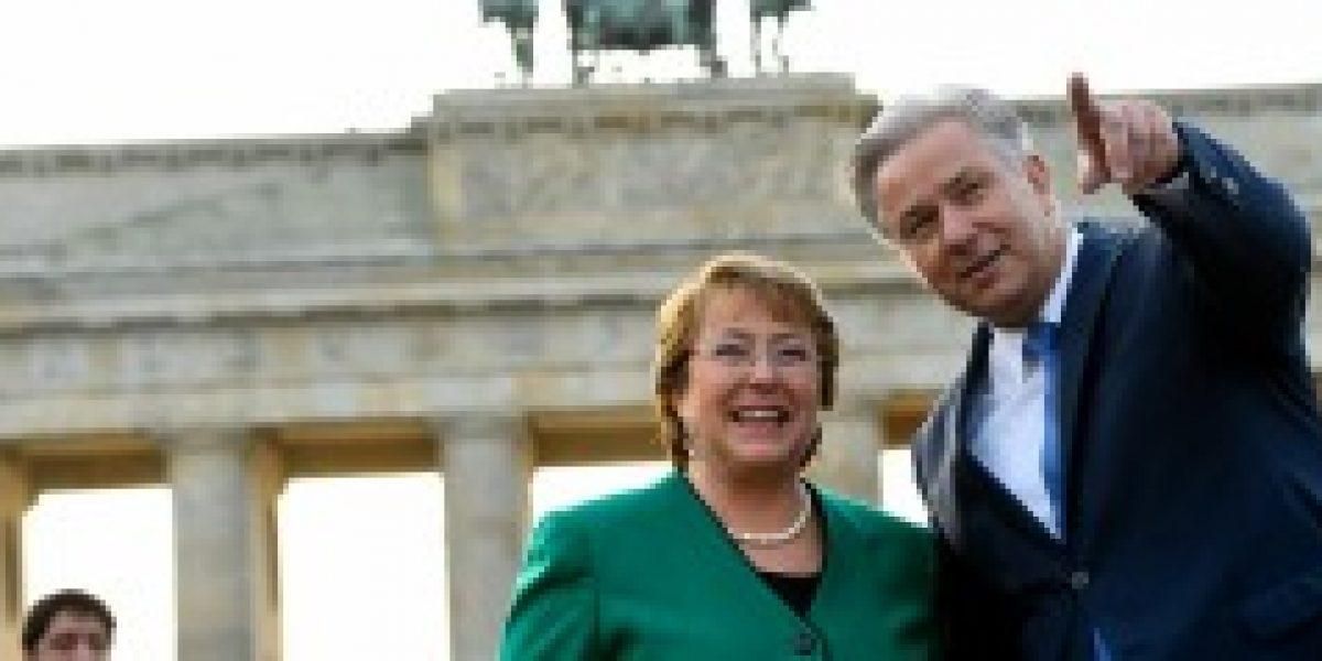 Bachelet hizo llamado a empresarios alemanes a invertir más en Chile