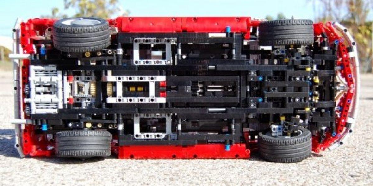 GALERÍA Y VIDEO:La Combi de VW ahora hecha en Lego