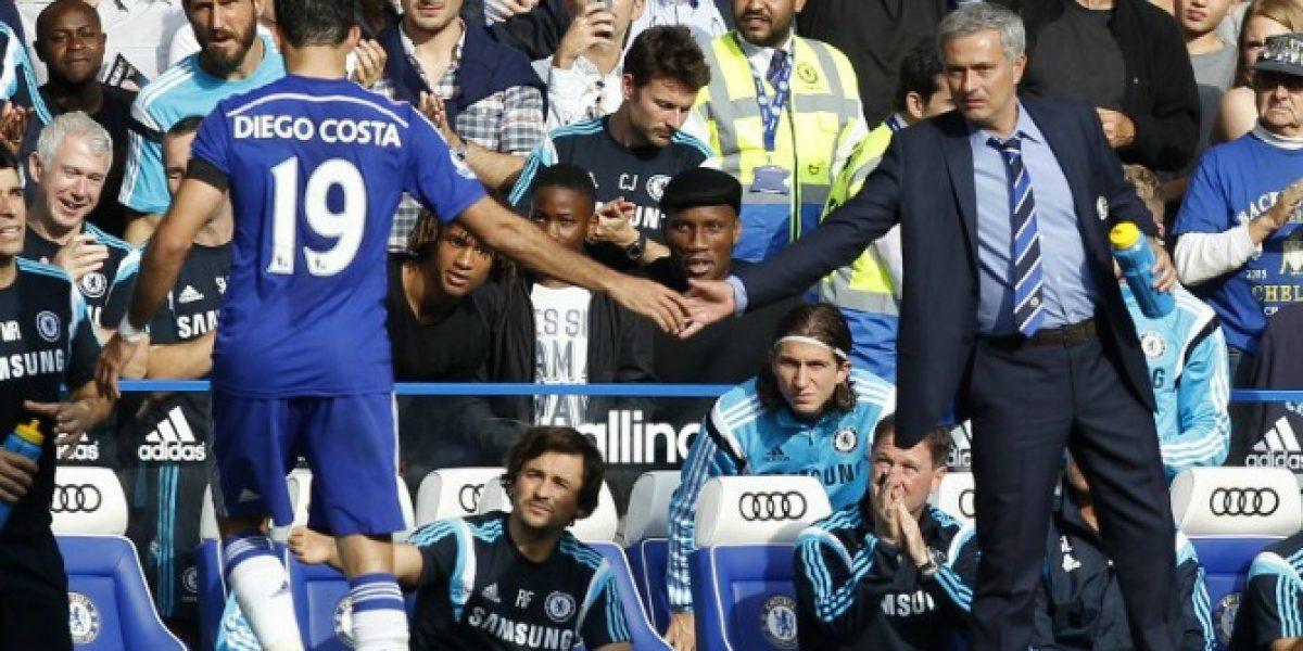 Mourinho culpó a la Selección española por las lesiones de Diego Costa