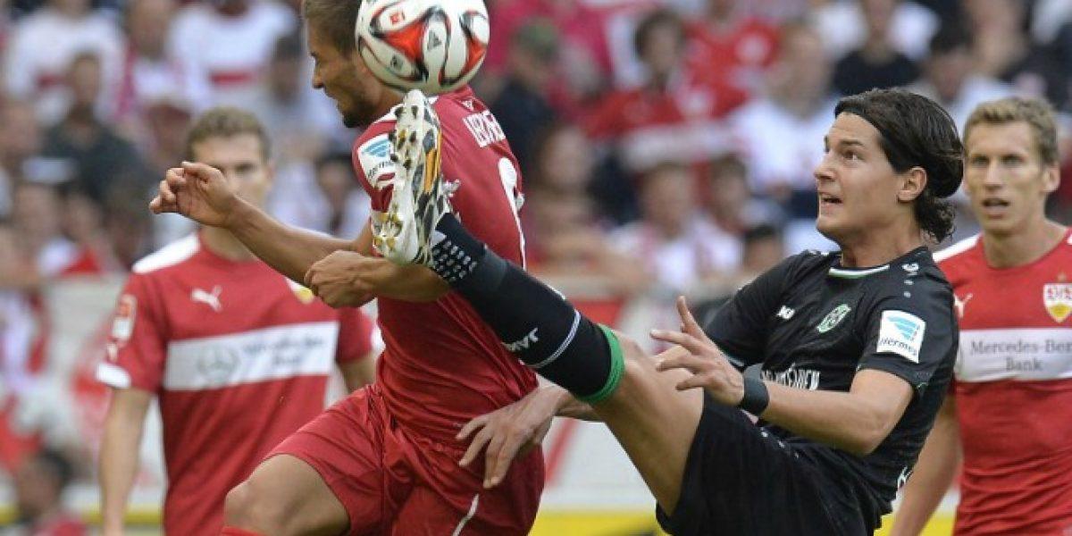 Miiko Albornoz fue parte del fracaso de Hannover en la Copa de Alemania