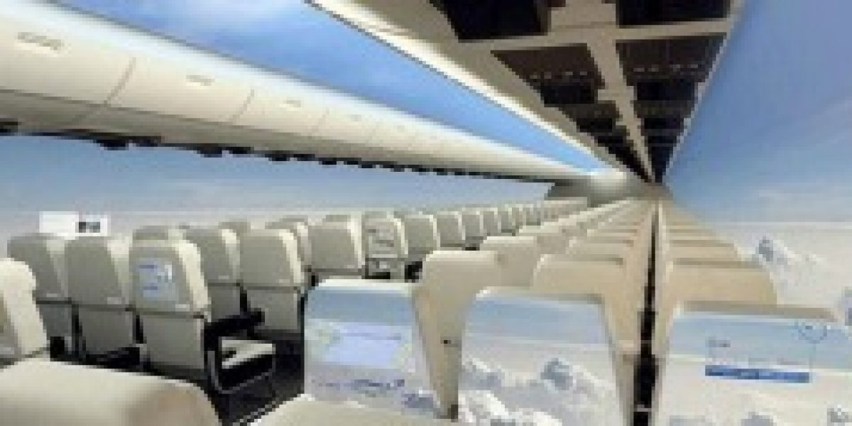 ¿Te gustaría viajar en este avión?
