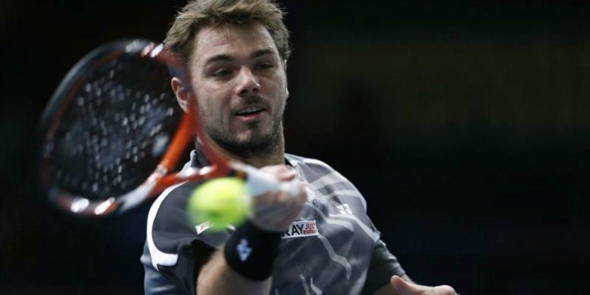 Wawrinka sigue firme en el Masters 1000 de París