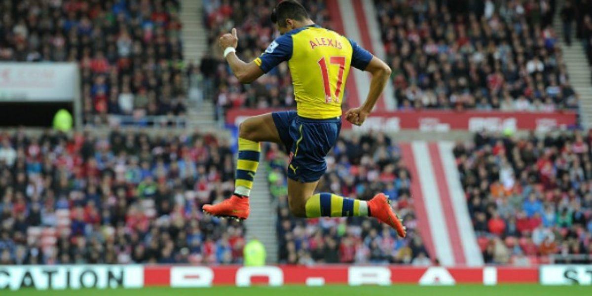 Nuevamente fue el mejor: Sánchez el jugador del mes en Arsenal