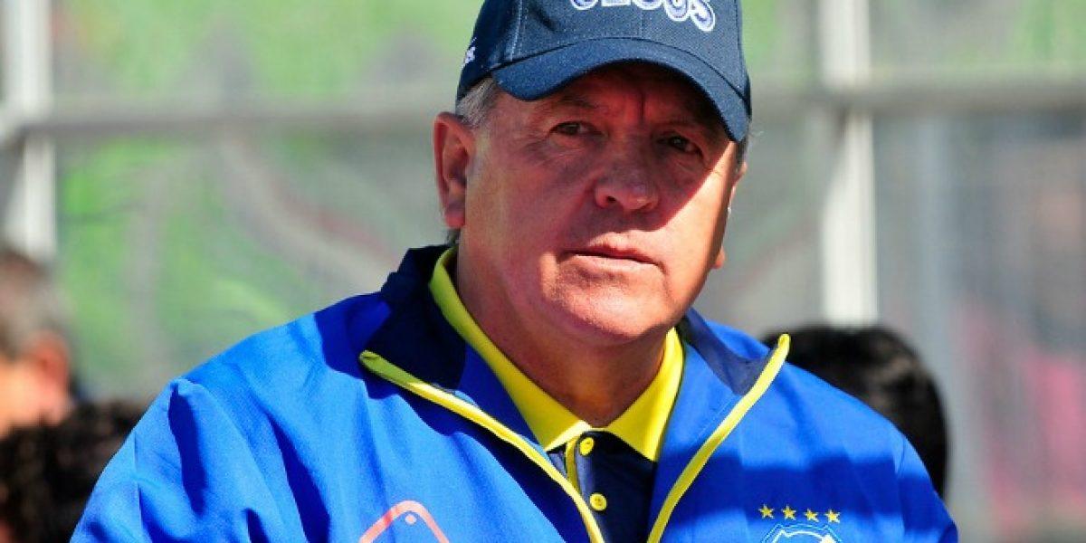 Luis Marcoleta fue cesado de la banca de Everton