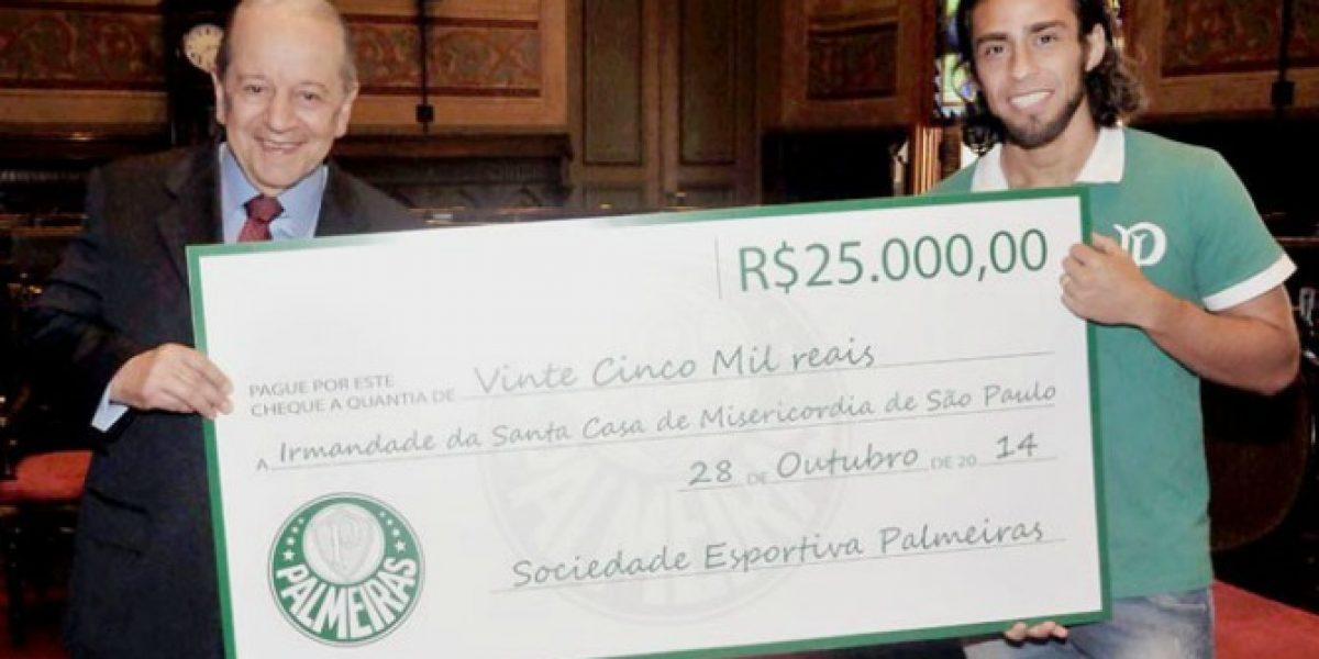 Valdivia canceló multa y donó dinero a un centro asistencial