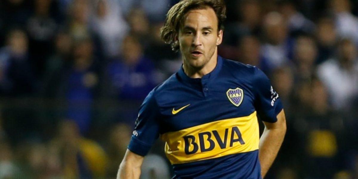 Chapita Fuenzalida asoma como titular en Boca Juniors para duelo por la Sudamericana