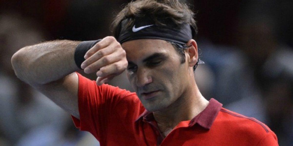 Roger Federer sufrió para avanzar en el Masters de París