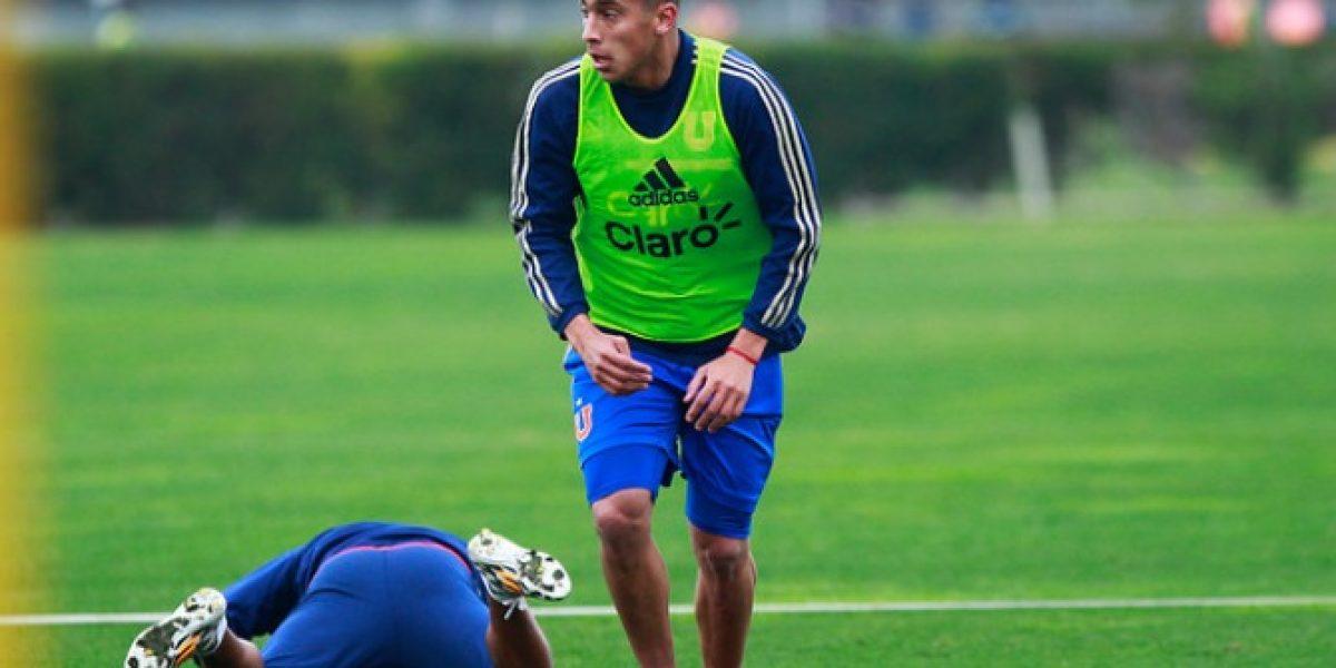 Guzmán Pereira podría debutar con la selección uruguaya ante Chile