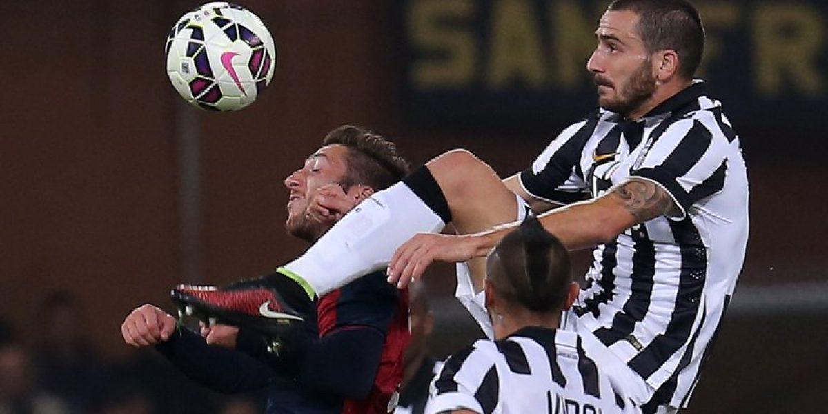 Galería: Las mejores imágenes del primer tiempo entre Genoa y Juventus