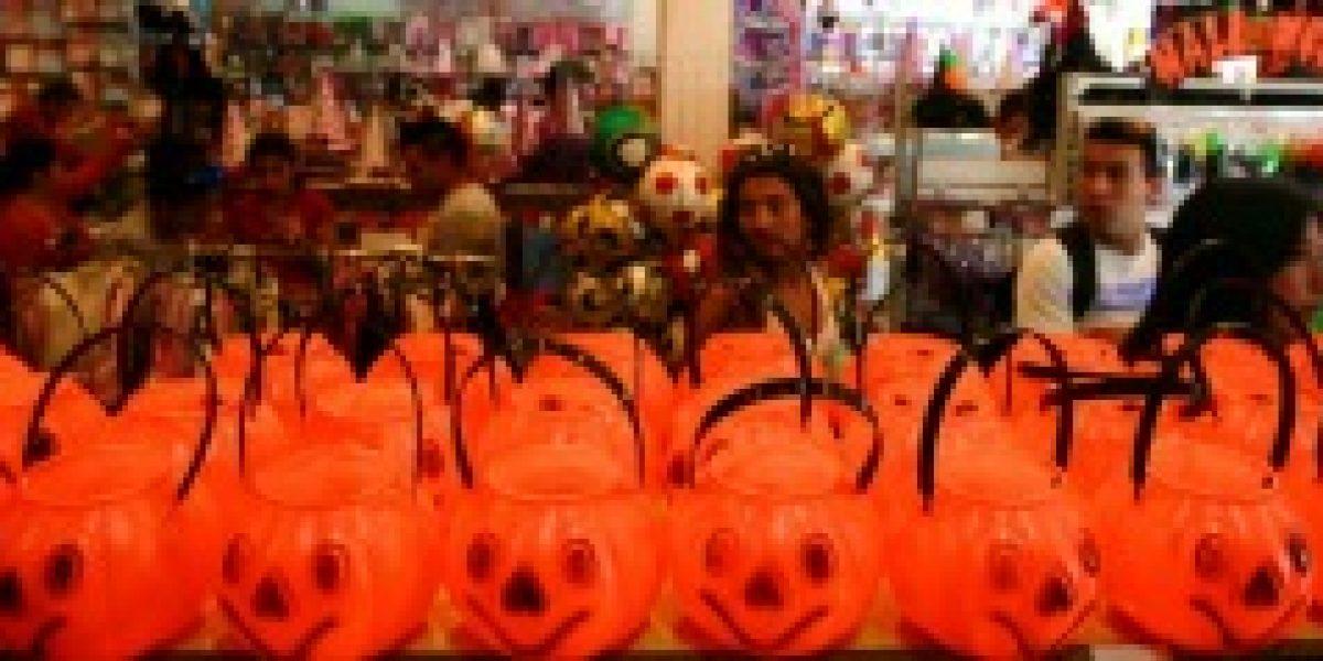 El comercio está a full con las ventas para Halloween