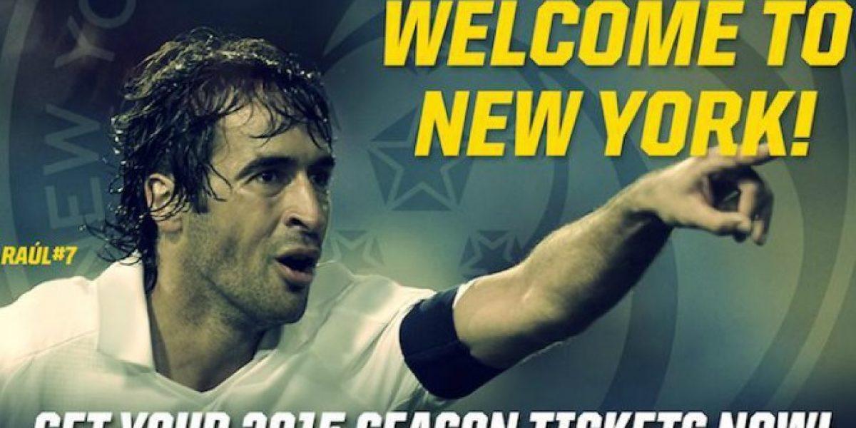 Leyenda del fútbol español firmó por el Cosmos de Nueva York