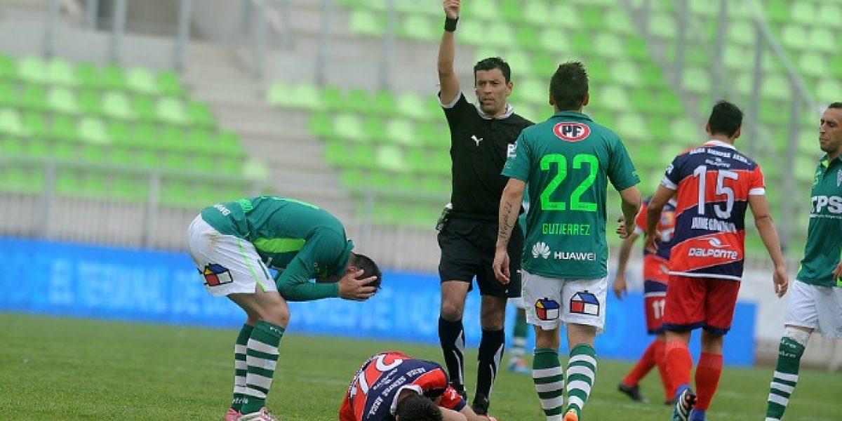 Molestia en Wanderers por sanción a jugador:
