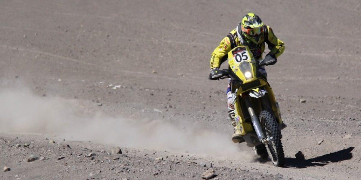 Joan Barreda gana la tercera etapa del Atacama Rally y se pone como líder en motos