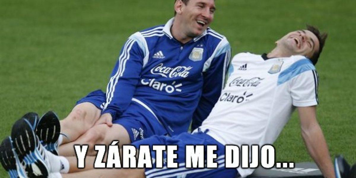 ¡Ya están aquí! Los primeros memes tras la posible llegada de Mauro Zárate a la Roja