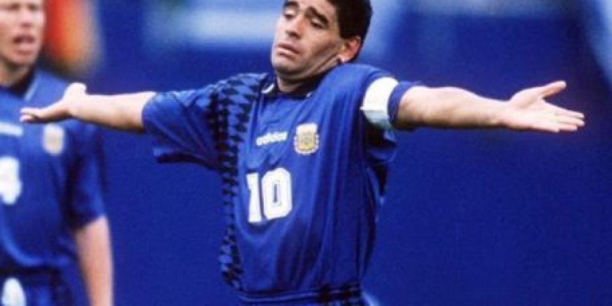 Las 8 ocasiones en que Diego Maradona nos decepcionó