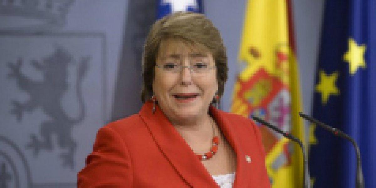 Bachelet reconoce que la Alianza del Pacífico está para