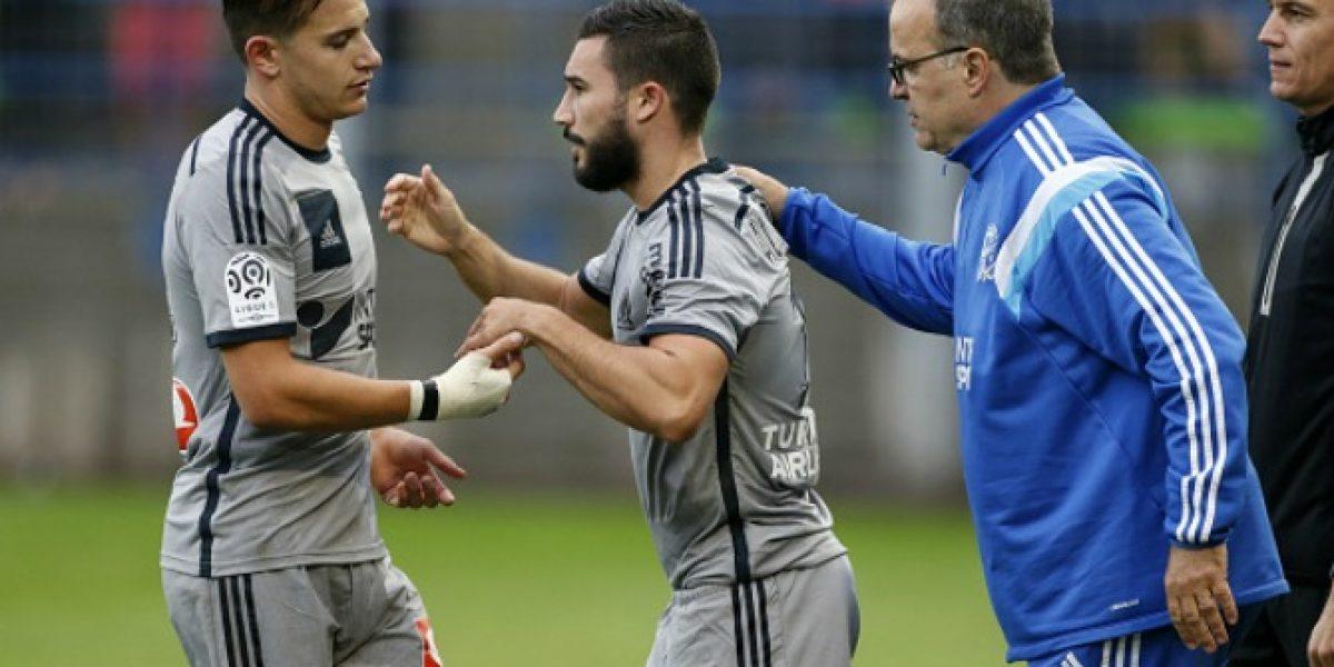 Polémica: Jugadores del Marsella de Bielsa se van a los golpes