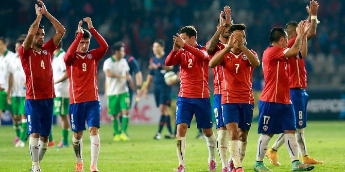 Selección chilena se estrena en Twitter
