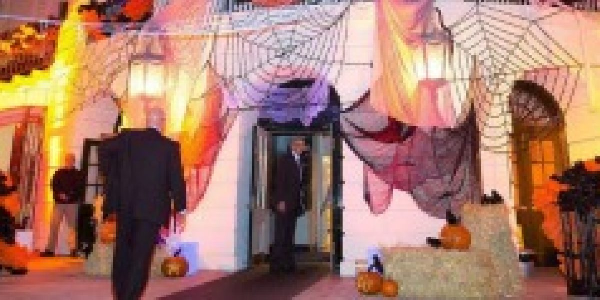 FOTOS: El Halloween de Barack Obama