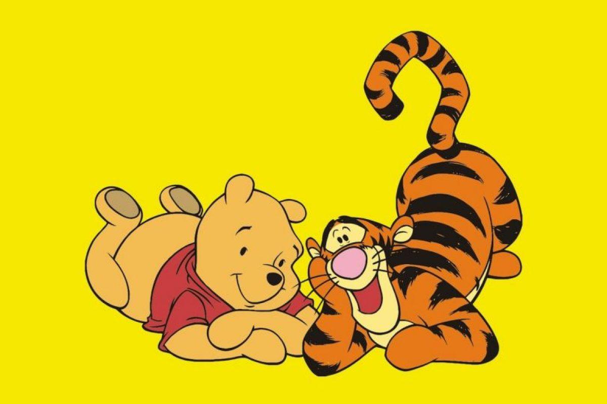 """Tiger, de """"Winnie Pooh"""": Siempre se ha rumoreado, por años, de la sexualidad de este personaje. Foto:Disney. Imagen Por:"""