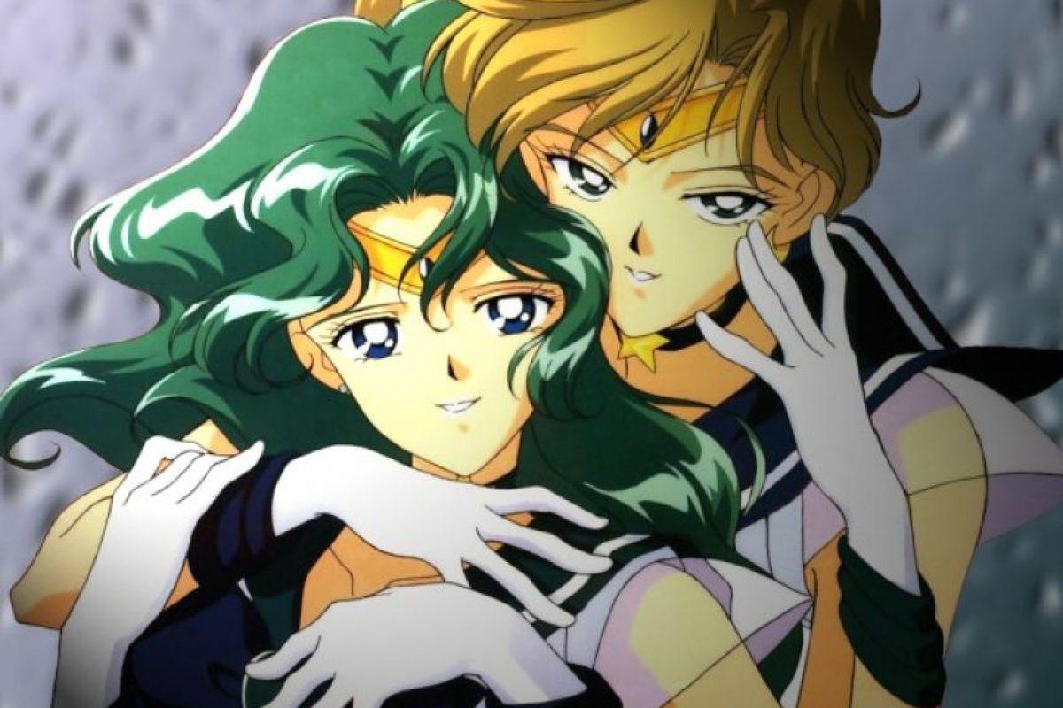 Haruka Tenou y Michiru Kaioh de Sailor Moon Foto:Clamp. Imagen Por: