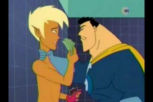 """Capitanazo, de """"La casa de los dibujos"""": Este superhéroe tuvo una relación homosexual con Xander, su compañero en el reality Foto:MTV. Imagen Por:"""